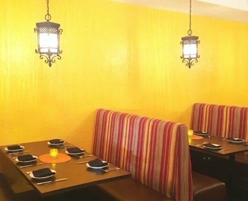 commercial booths and banquettes