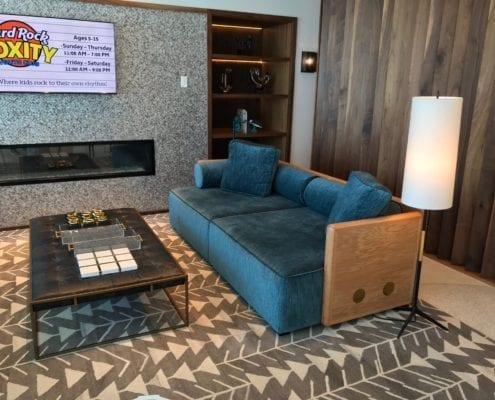 custom commercial sofa