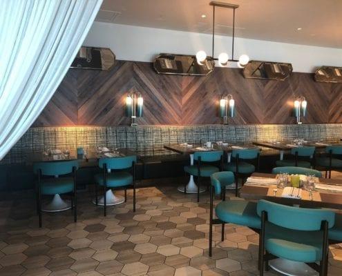 custom hotel banquette furniture design